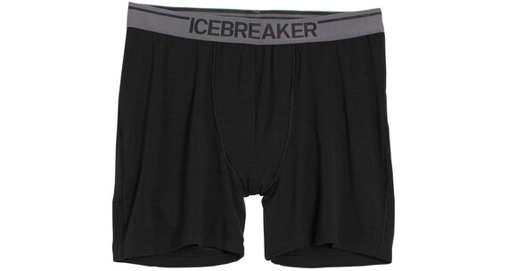 Icebreaker Anatomica Boxers Men black/monsoon